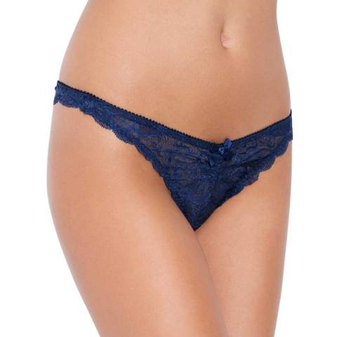L'Agent by Agent Provocateur Navy Leola Thong