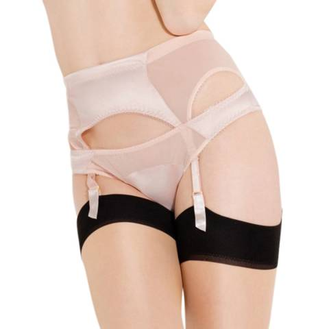 L'Agent by Agent Provocateur Nude BryonieSuspender Belt