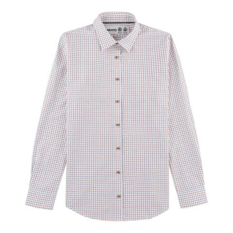 Musto Women's Blue/Pink Check Country Cotton Shirt