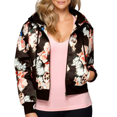 Lorna Jane Multi-Coloured Blossom Bomber Jacket