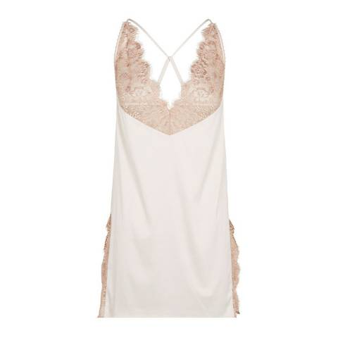 Pleasure State White Label Pale Pink Patience Fleming Chemise Slip