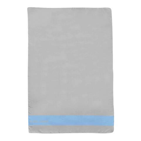 Alber Zoran Grey Icon Plain Stripe Scarf