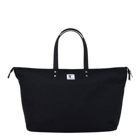 Forbes & Lewis Black Teddington Weekend Bag
