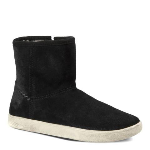 UGG Kid's Black Rye Suede Boots