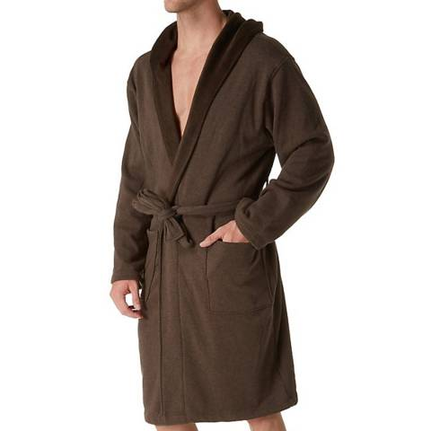 UGG Men's Brown Brunswick Dressing Gown