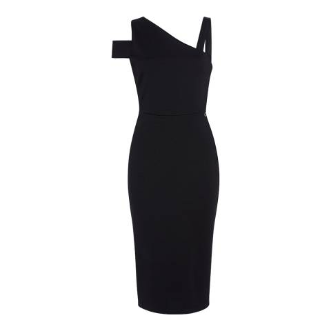 Outline Black Portman Midi Dress