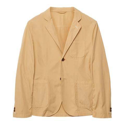 Gant Yellow Cotton Blazer