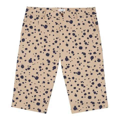 Gant Beige Dotted Cotton Shorts