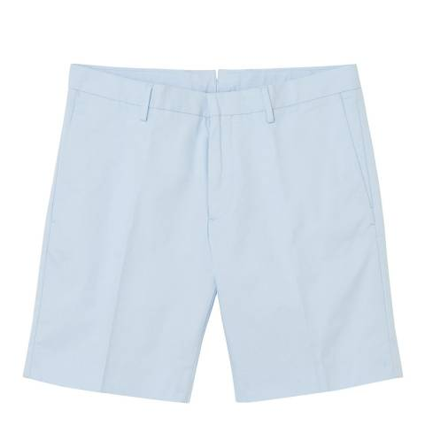 Gant Light Blue Cotton Blend Bermuda Short