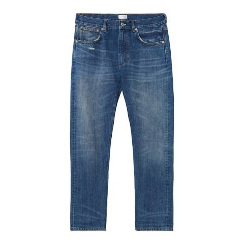Gant Light Blue Straight Let Loose Jim Jeans
