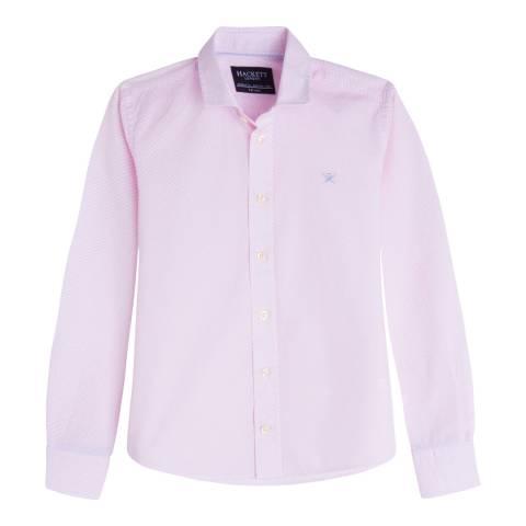 Hackett London Boy's Pink Cotton Shirt