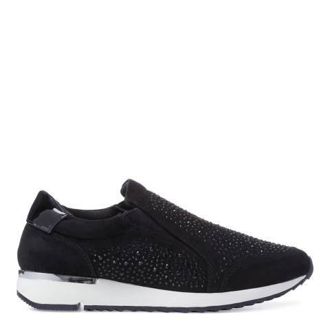 Carvela Black Embellished Jazz Sneaker