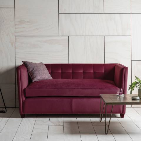 Gallery London 2 Seater Sofa in Brussels Chianti