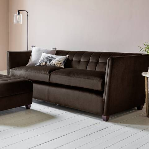 Gallery London 3 Seater Sofa in Brussels Espresso