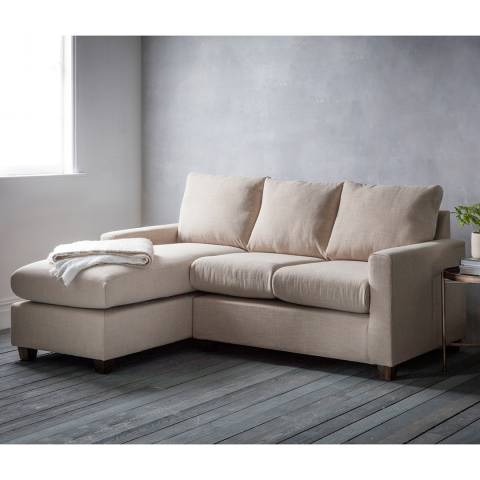 Gallery Stratford Right Hand Chaise Sofa in Field Beige