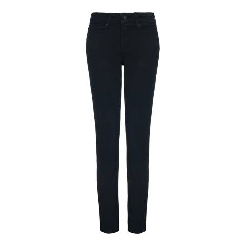 NYDJ Black Sheri Skinny Cotton Blend Jeans