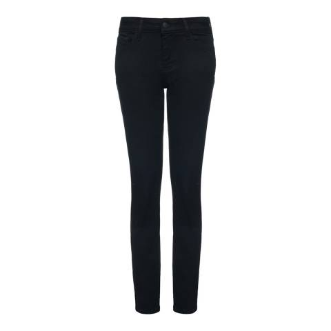 NYDJ Black Plain Cotton Blend Jeggings