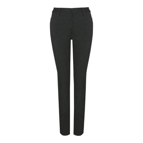 NYDJ Charcoal Samantha Slim In Ponte Knit Jeans