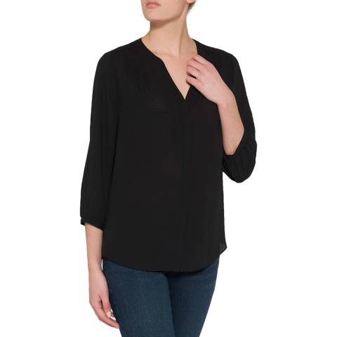 NYDJ Black Key Item Blouse