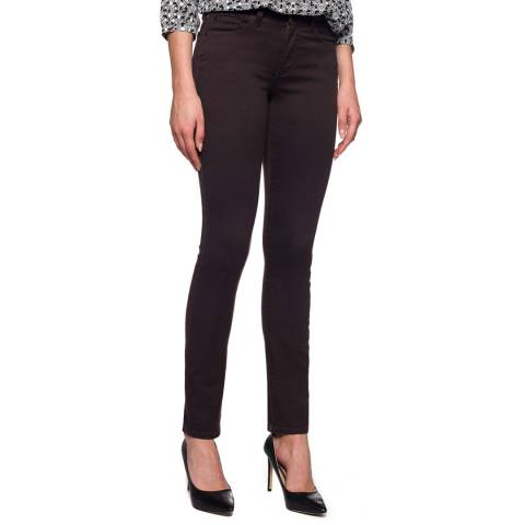 NYDJ Chocolate Alina Cotton Blend Jeggings