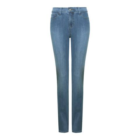 NYDJ Sky Wash Samantha Slim Cotton Blend Jeans
