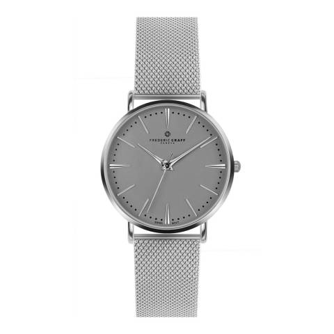 Frederic Graff Unisex Silver Eiger Watch 40mm