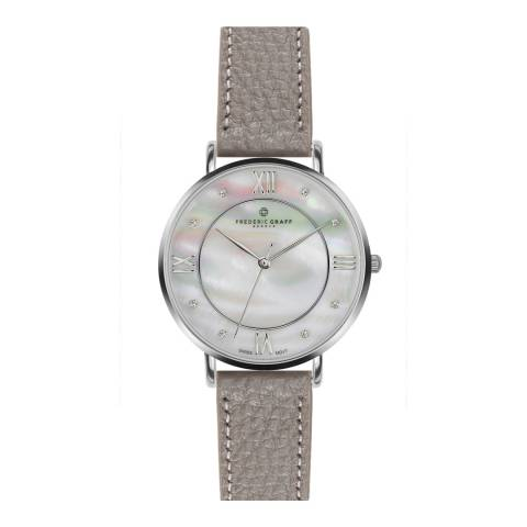 Frederic Graff Women's Grey Liskamm Watch 38mm
