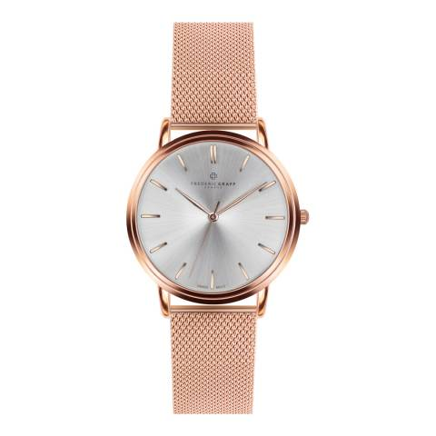 Frederic Graff Unisex Rose Gold Breithorn Watch 40mm