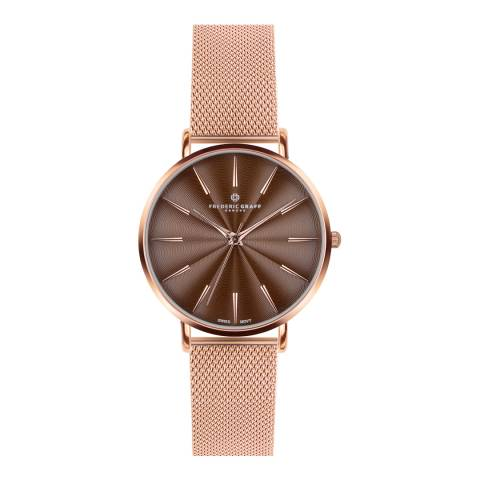Frederic Graff Women's Rose Gold Monte Rosa Watch 38mm
