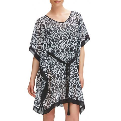 Fantasie Black/Cream Beqa Kaftan