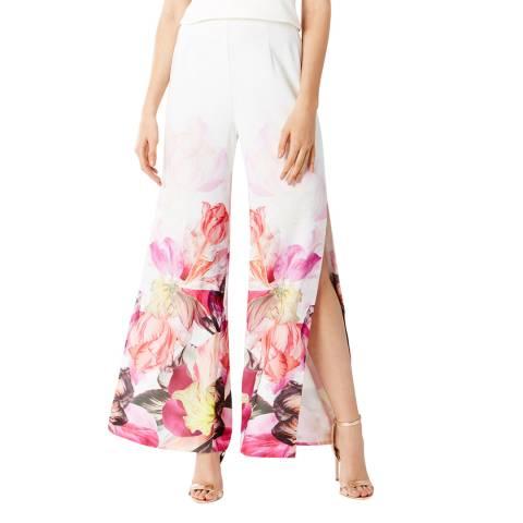 Coast White/Multi Bickham Printed Trousers