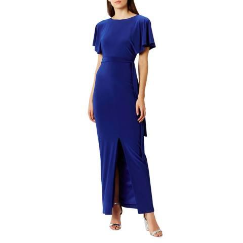 Coast Cobalt Conny Jersey Tie Maxi Dress