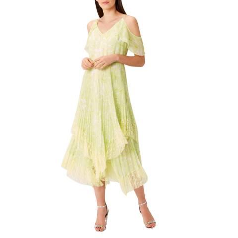 Coast Lime Jamie Printed Dress