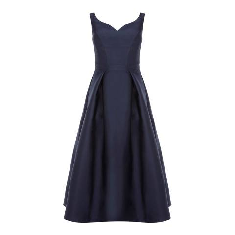 Coast Navy Taylor Midi Bridesmaid Dress