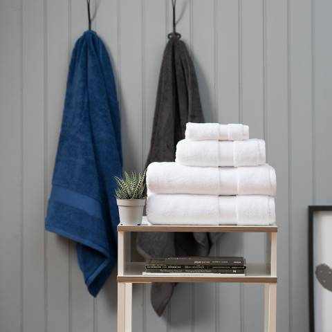 The White Room White Hotel Collection Bath Towel