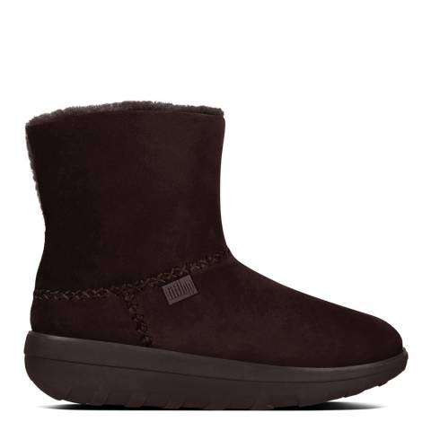 FitFlop Chocolate Suede Mukluk Shorty II Boots