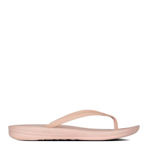 FitFlop Women's Nude iQushion Super Ergonomic Flip Flop