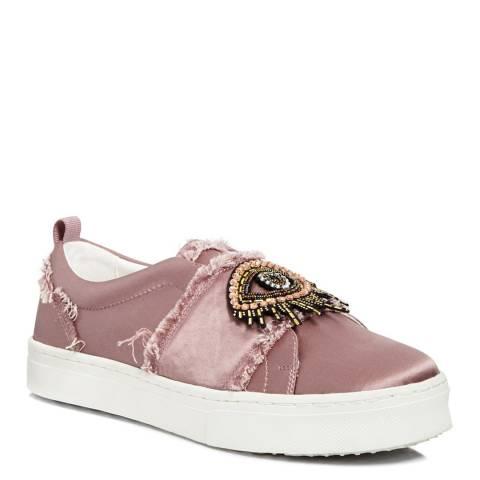 Sam Edelman Pink Satin Levine 2 Sneakers