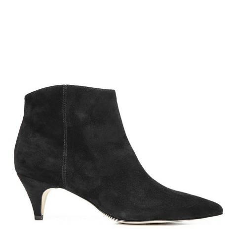 Sam Edelman Black Suede Kinzey Ankle Boots