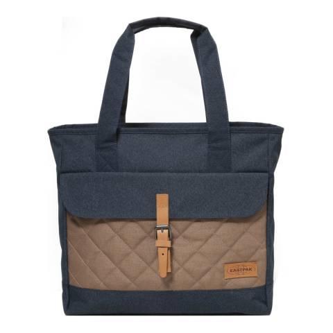 Eastpak Navy Flail Quilt Shoulder Bag