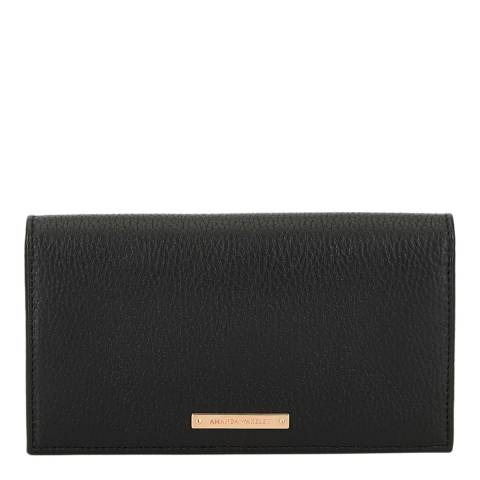 Amanda Wakeley Black Leather The Lennon Purse