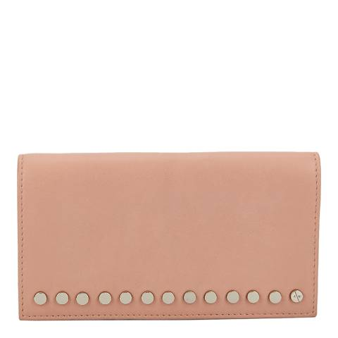 Amanda Wakeley Pale Pink Leather The Lennon Purse
