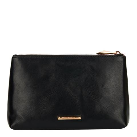 Amanda Wakeley Black Leather The Large Mercury Bag