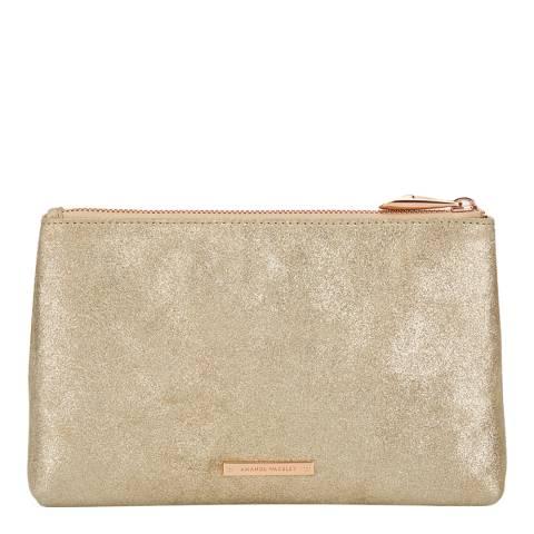 Amanda Wakeley Pale Gold Leather The Large Mercury Bag