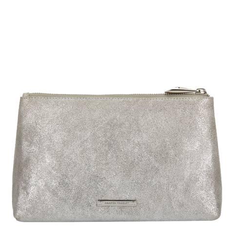 Amanda Wakeley Silver Leather The Large Mercury Bag