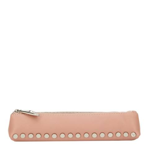 Amanda Wakeley Pale Pink Leather Small The Mercury Cosmetic Bag