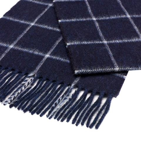 Bronte by Moon Navy Yarlside Scarf