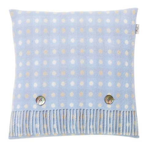 Bronte by Moon Beige/Multi Multispot/Check Cushion Cover and Scarf