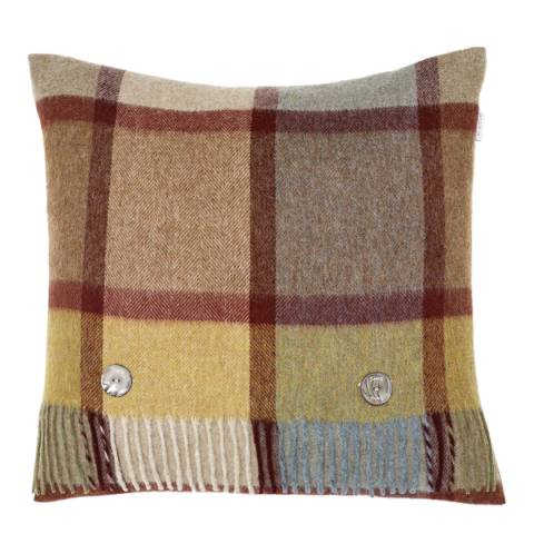 Bronte by Moon Ochre Pateley Cushion Cover and Stole
