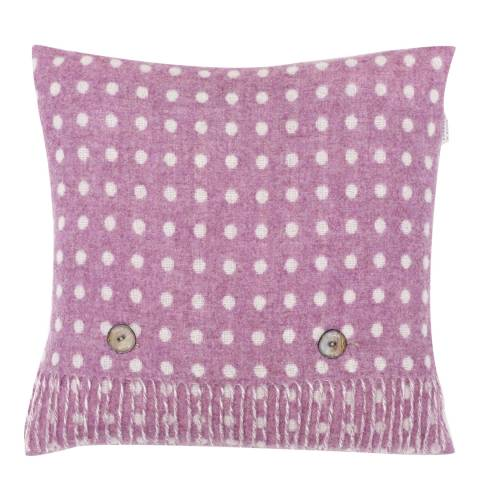 Bronte by Moon Lilac Spot Cushion Cover and Scarf